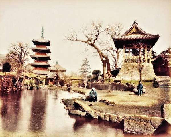 Photograph - Buddist Temple 1 by John Feiser