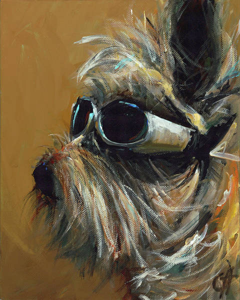 Wall Art - Painting - Buddy by Cari Humphry