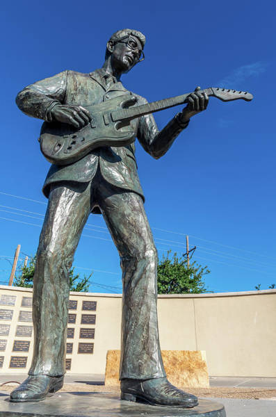 Photograph - Buddy Holly 2 by Adam Reinhart