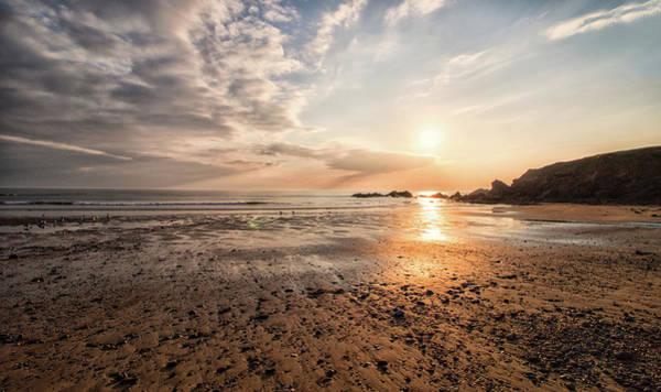Wall Art - Photograph - Bude Beach Cornwall by Martin Newman