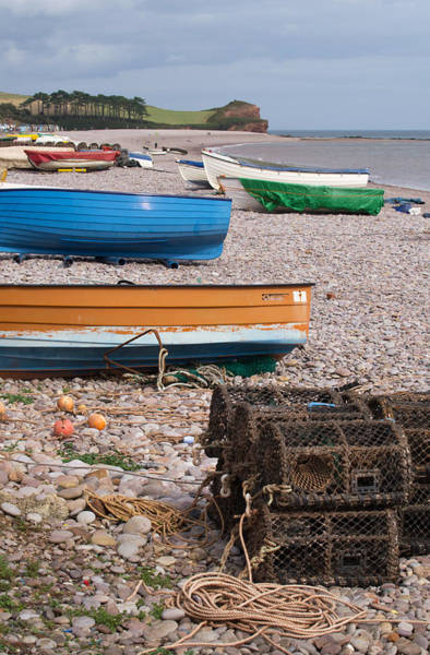 Photograph - Budleigh Beach by Pete Hemington