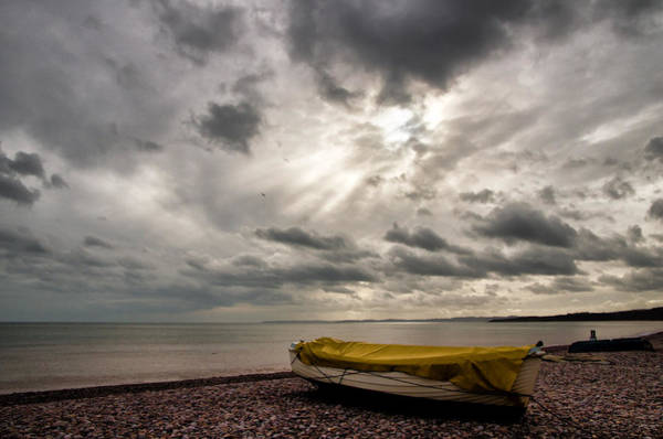 Photograph - Budleigh Salterton Beach by Pete Hemington