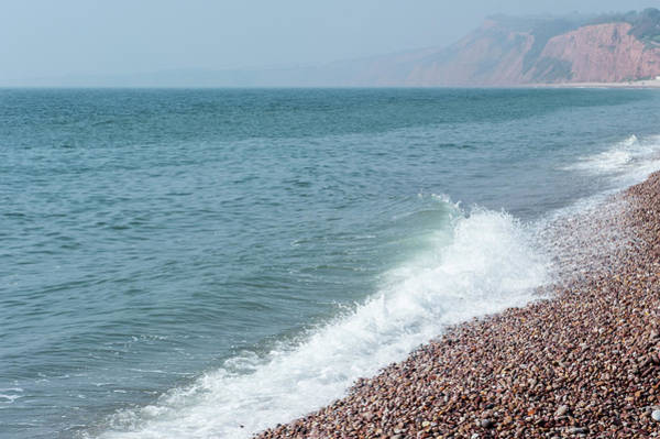 Photograph - Budleigh Seascape I by Helen Northcott