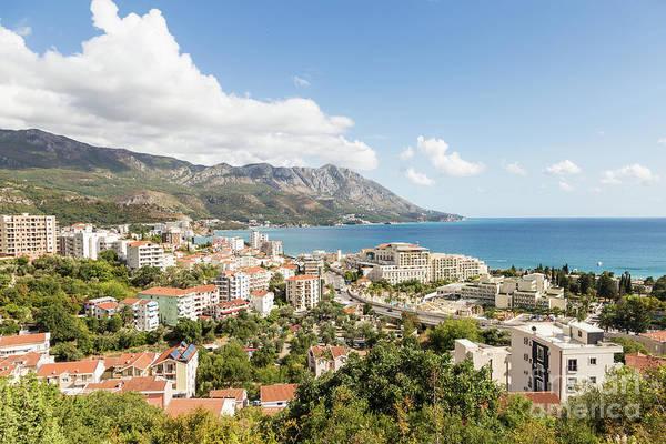 Photograph - Budva Along The Adriatic Sea In Montenegro by Didier Marti