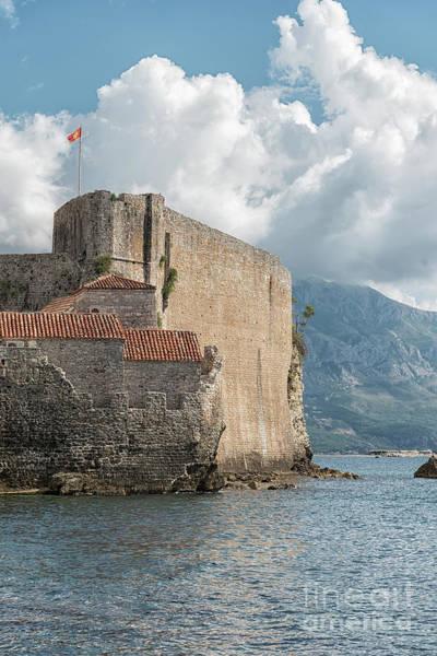 Stari Grad Photograph - Budva Citadela Fort by Antony McAulay
