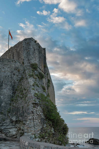 Stari Photograph - Budva Citadela Fortification by Antony McAulay