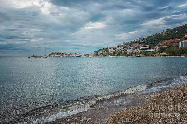 Stari Photograph - Budva Montenegro Coastline by Antony McAulay