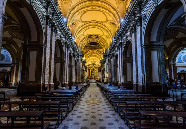 Photograph - Buenos Aires Metropolitan Cathedral by Randy Scherkenbach