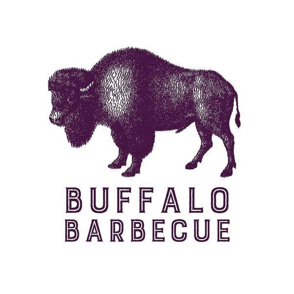 Bbq Digital Art - Buffalo Barbecue by Antique Images