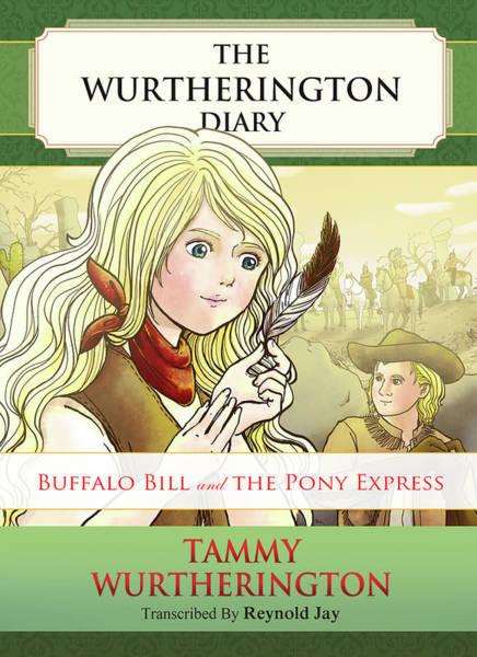 Painting - Buffalo Bill And The Pony Express by Reynold Jay