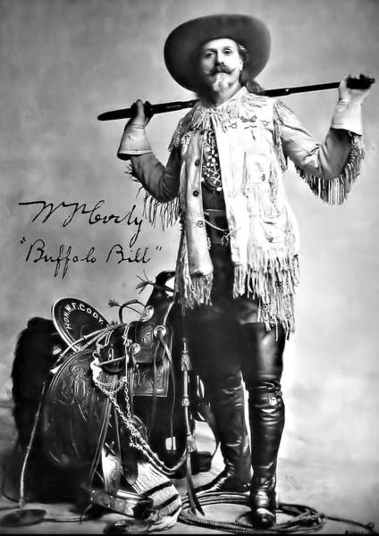 Photograph - Buffalo Bill Autographed by John Feiser