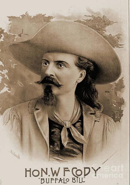Photograph - Buffalo Bill Cody by Gary Wonning