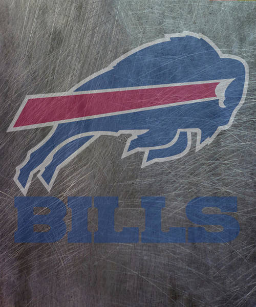 Mixed Media - Buffalo Bills Translucent Steel by Movie Poster Prints