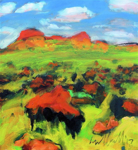 Painting - Buffalo Calving by Les Leffingwell