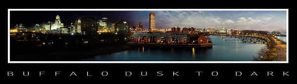 Wall Art - Photograph - Buffalo Dusk To Dark 2 by Peter Chilelli