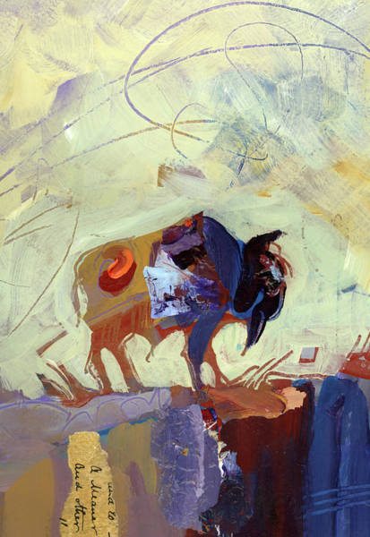 Painting - Buffalo IIi by Shelli Walters
