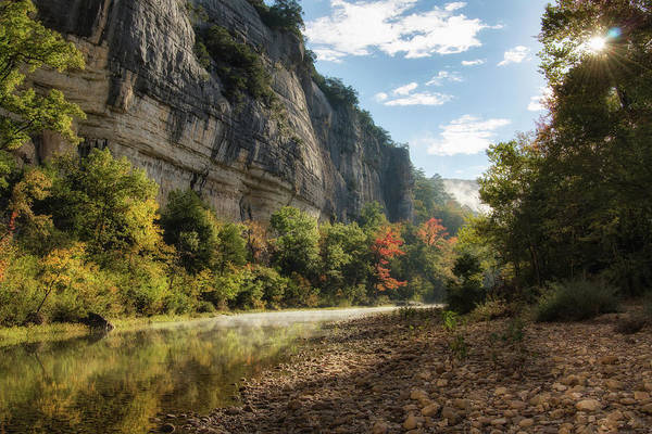 James River Photograph - Buffalo River Morning by James Barber