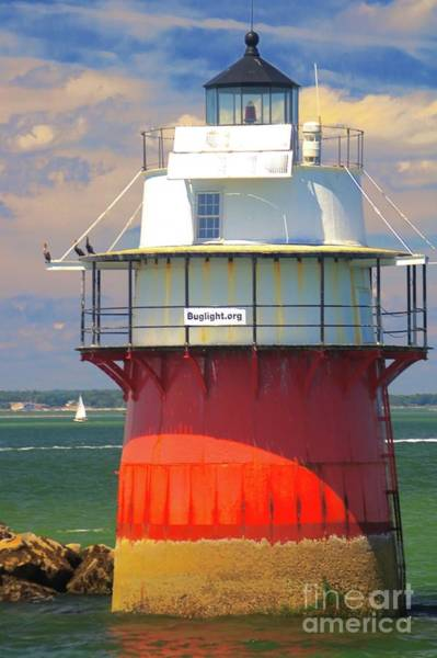 Photograph - Bug Light Plymouth by Amazing Jules