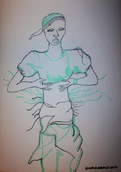 Painting - Buganda Dance - Uganda by Gloria Ssali