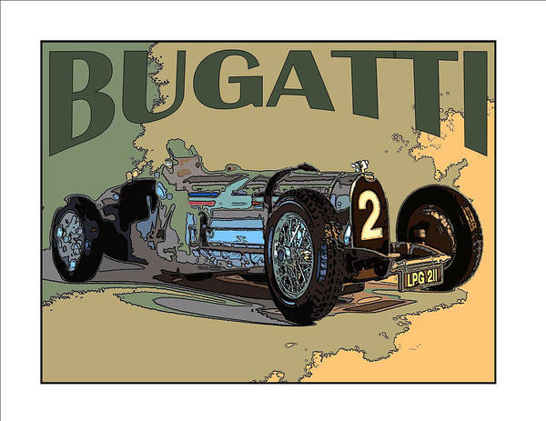 Photograph - Bugatti #2 by James Rentz