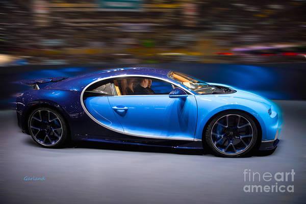 Super Car Mixed Media - Bugatti Chiron by Garland Johnson