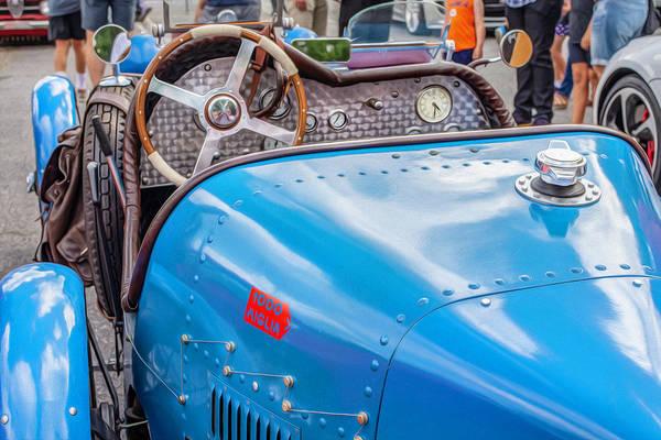 Dashboard Digital Art - Bugatti Cockpit by Keith Smith