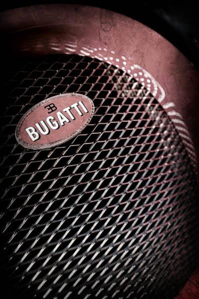 Photograph - Bugatti Veyron Legand -0520ac by Jill Reger