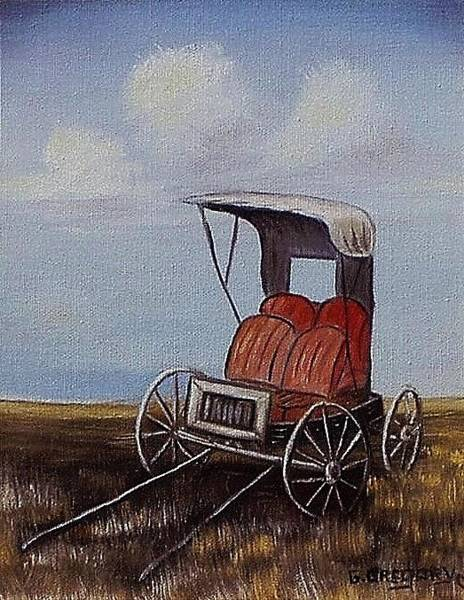 Painting - Buggy by Gene Gregory