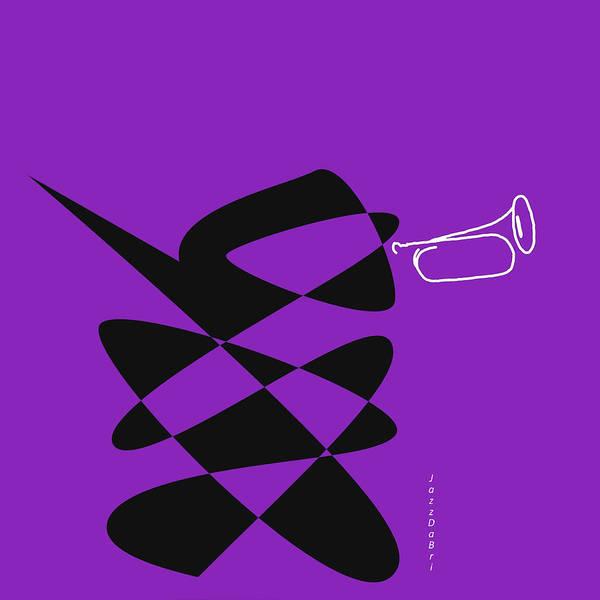 Digital Art - Bugle In Purple by David Bridburg