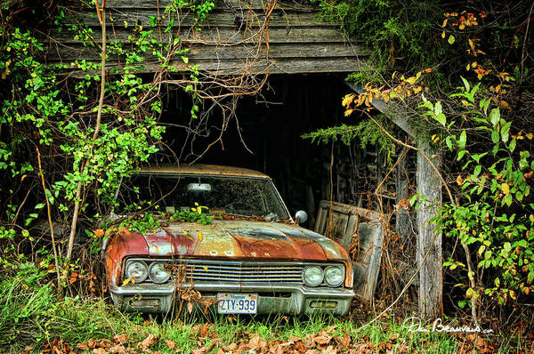 Photograph - Buick 6321 by Dan Beauvais