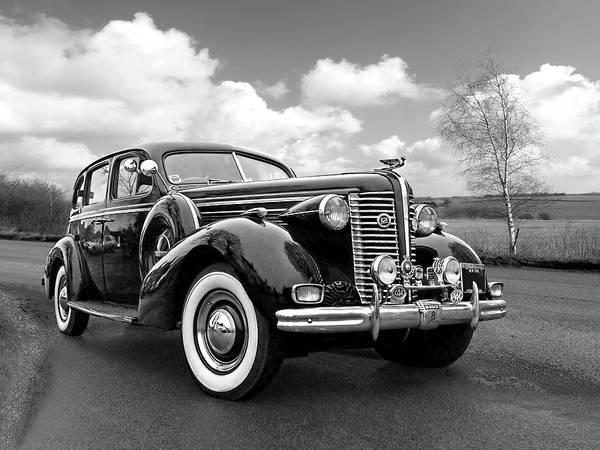 Photograph - Buick 8 1938 Sedan by Gill Billington
