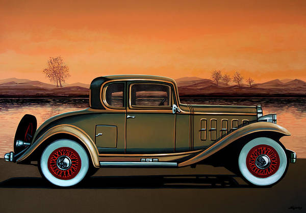 Wall Art - Painting - Buick 96 S Coupe 1932 Painting by Paul Meijering