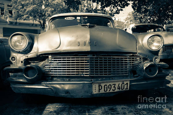 Wall Art - Photograph - Buick Chrome  by Rob Hawkins