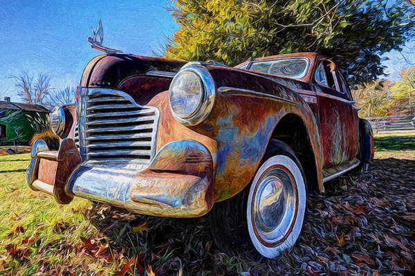 Painting - Buick Eight by Joe Sparks