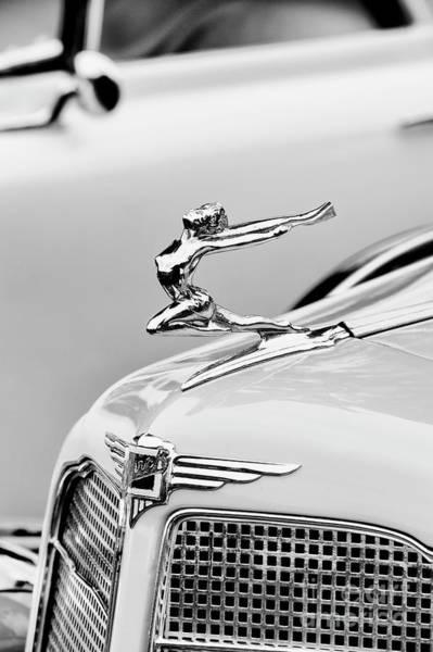 Black Buck Photograph - Buick Flying Lady by Tim Gainey