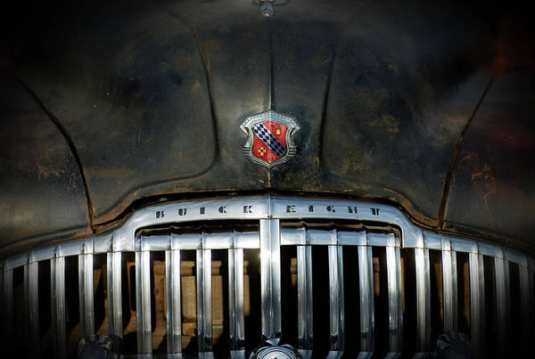 Photograph - Buick Grille by Bud Simpson