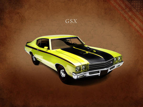 Gsx Photograph - Buick Gsx 1971 by Mark Rogan