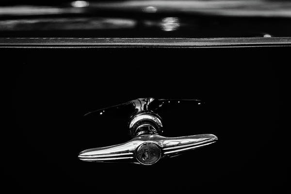 Photograph - Buick Lasalle Trunk Handle #2 by Stuart Litoff