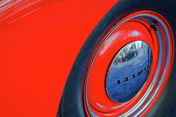 Photograph - Buick Lasalle Wheel And Fender #2 by Stuart Litoff