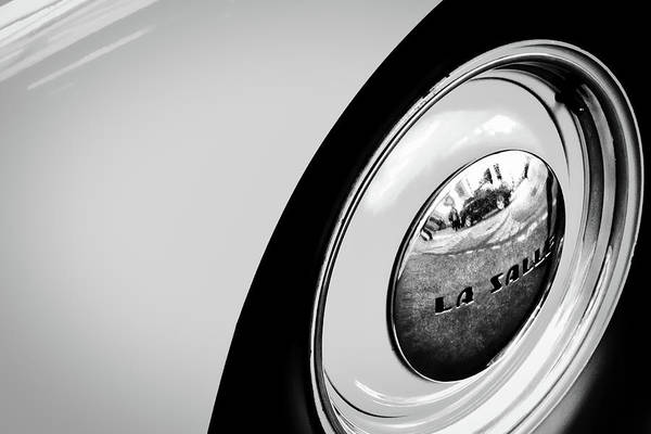 Photograph - Buick Lasalle Wheel And Fender by Stuart Litoff
