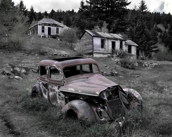 Photograph - Buick by Leland D Howard