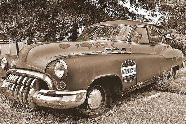 Photograph - Buick Super Sepia by Lisa Wooten