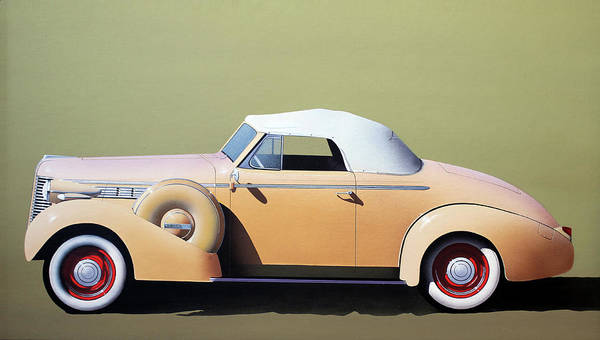Painting - Buick by Susan Schroeder