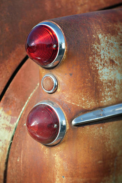Photograph - Buick Taillights by Bud Simpson