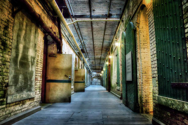 Wall Art - Photograph - Building 64 Interior - Alcatraz Island by Jennifer Rondinelli Reilly - Fine Art Photography