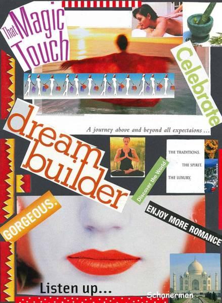 Mixed Media - Building A Dream by Susan Schanerman