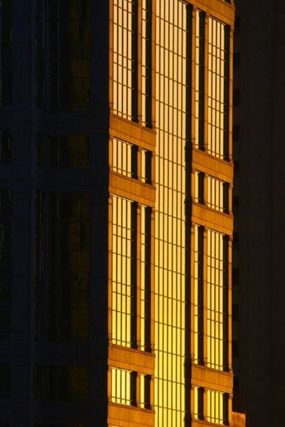 Photograph - Building At Sunset by Polly Castor