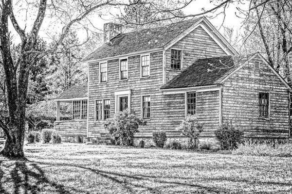 Photograph - Building At Waterloo Village   by Eleanor Abramson