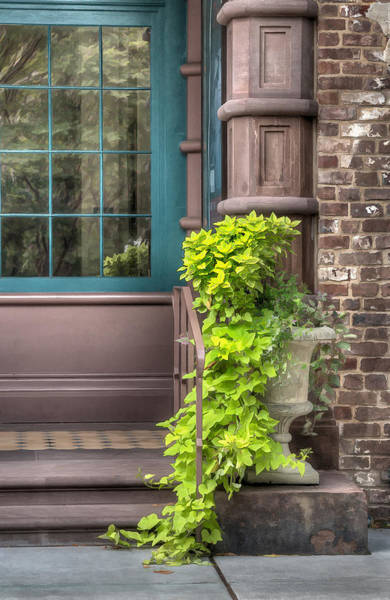 Photograph - Building Entrance In Charleston by Gary Slawsky
