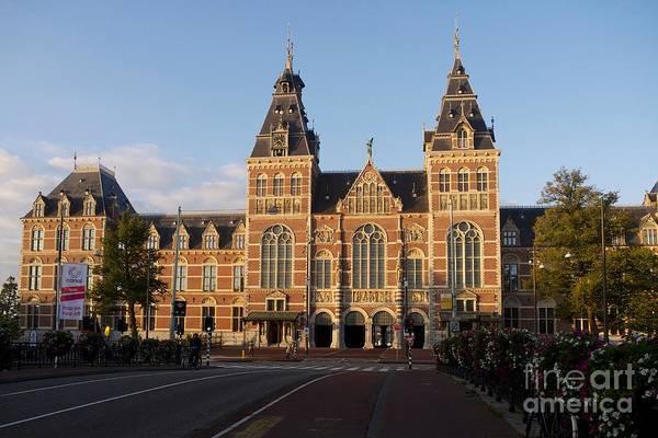 Wall Art - Photograph - Building Exterior Of Rijksmuseum. Amsterdam. Holland by Bernard Jaubert